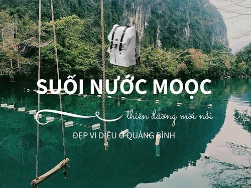 Photo of Suối nước moọc – Sứ xở thần tiên ở Quảng Bình