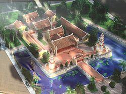 hình ảnh phục dựng chùa Hoằng Phúc