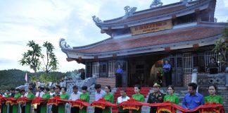 Đền tưởng niệm liệt sỹ Trường Sơn - Bến Phà Long Đại